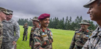 Exercise Yudh Abhyas 2016