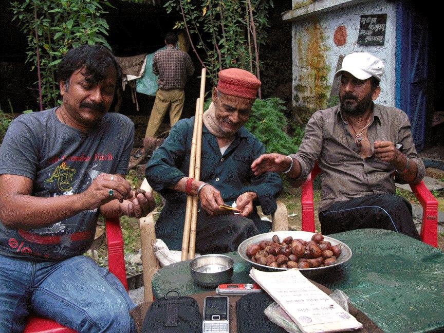Hemant Pandey With Viriksh Mitra