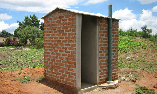 rural toilet fund