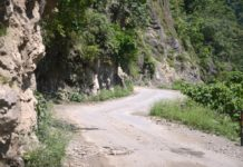 Tanakpur to Jauljibi road construction