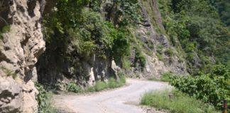 Tanakpur to Jauljibi road construction