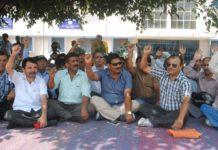 Teachers Strike Dehradun