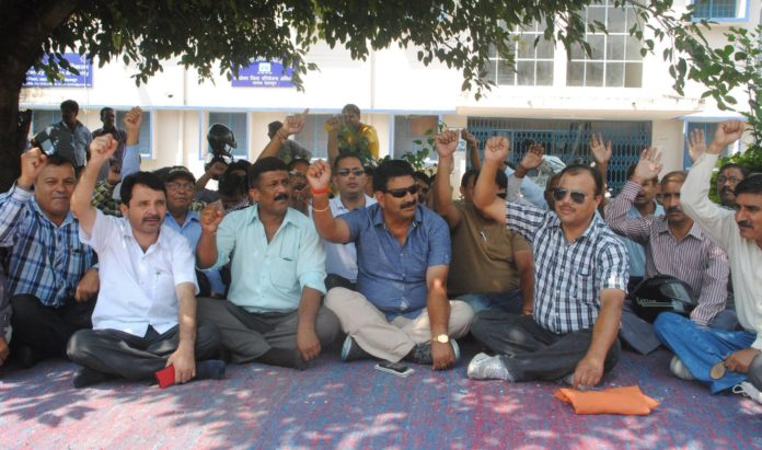 Teachers Strike Dehradun