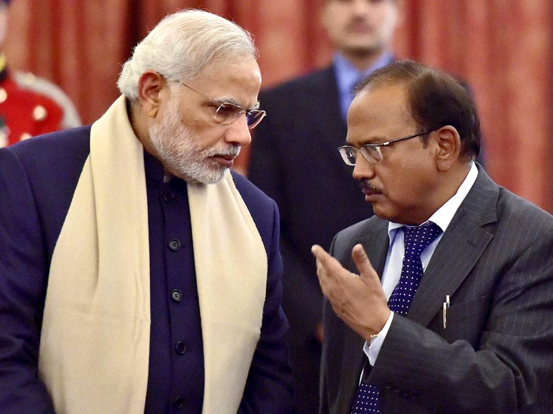Ajit doval with PM