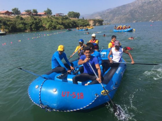 Tehri Lake Adventure Festival Started