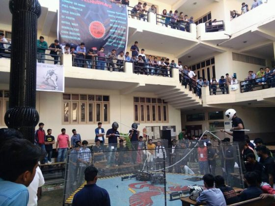 Robowar Demonstration