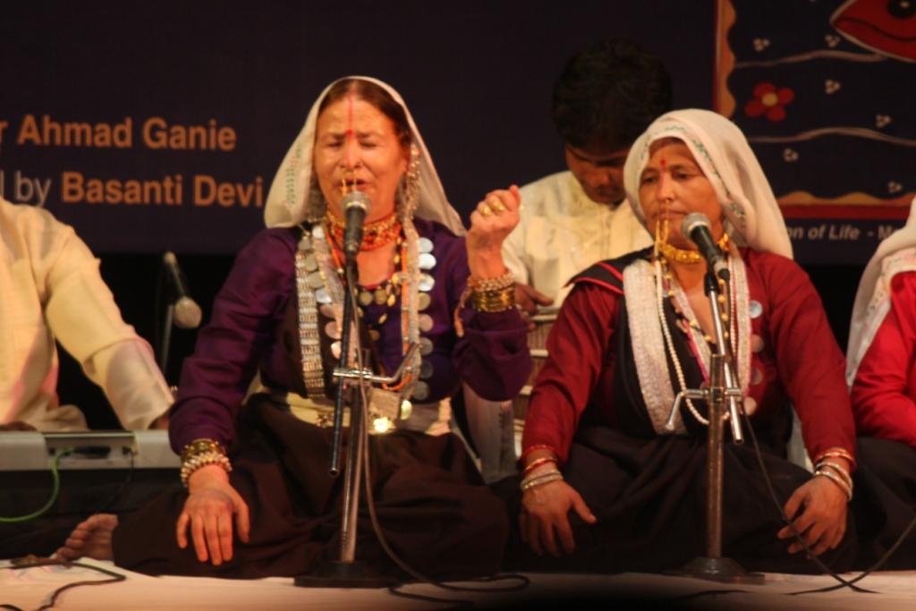 Basanti Devi Bisht Performing at Lok Sangeet Sammelan
