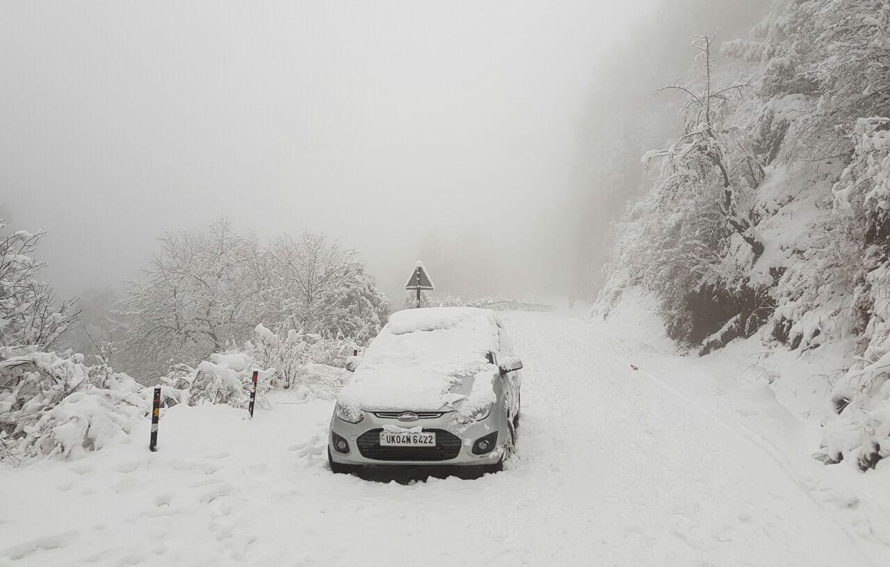 Snowfall_Nainital