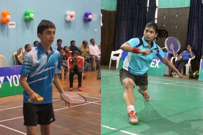 lakshay unnati badminton