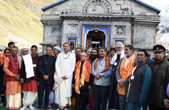 kedarnath shrine