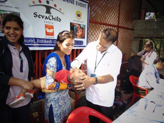 Village Health and hygiene event