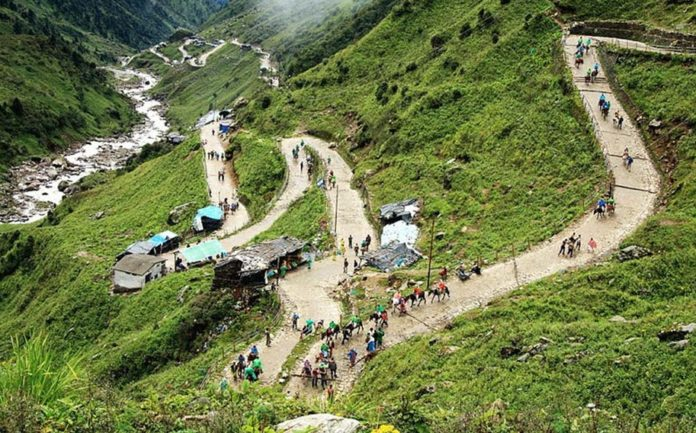 trekking routes kedarnath